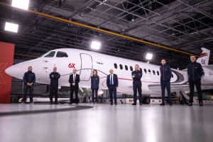 Dassault rolls out Falcon 6X Executive Jet