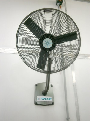 Fans for strict temperature control