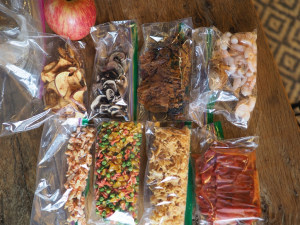 What food to carry on a week-long walk
