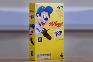 Kellogg's trials boxes for the sight-impaired