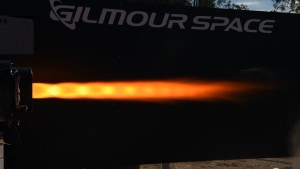 Gilmour Space doubles duration of hybrid rocket test fire