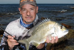 Rockin' bream: light tackle luring off the stones