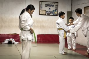 Behind the lens: The Karate Kids