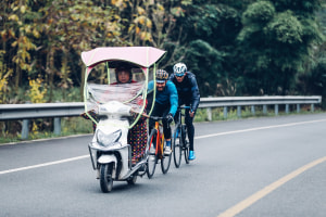 Travel Tales: Closed Roads, Hotpot And Pandas While Cycling China