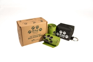 Green dog poop bags expand their pawprint