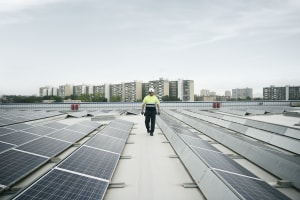 Solar driving growth in renewables