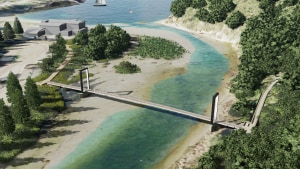 Shipwreck coast to get a brand new walker's bridge at Port Campbell