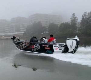 A new Stacer Bass Boat for Team Abu Garcia/Evinrude