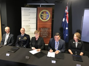 Defence and Lockheed Martin sign JP9711 simulation capability