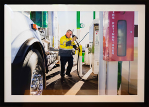 Jesse Marlow documents 'life behind the wheel' for BP's centenary in Australia