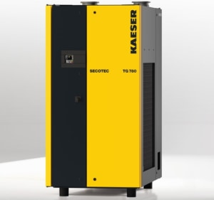 Compact refrigeration dryers for energy efficiency