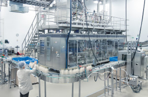 KHS facilitates aseptic filling in Canada