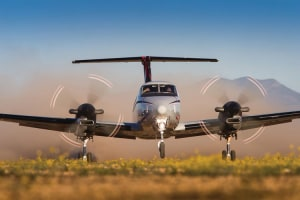 Pel-Air takes Delivery of First King Air 350