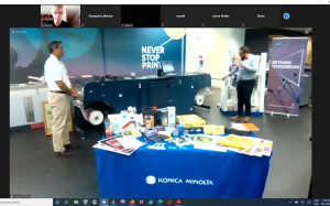 Konica Minolta presents digital labels at AIP