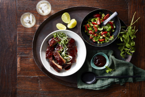 Recipe: Adelene Stahnke's glazed pork ribs