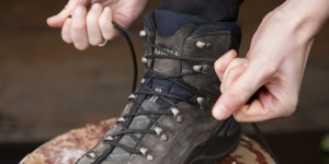 How to... lace you hiking boots