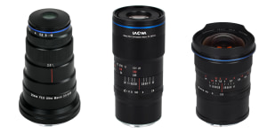 Laowa announces Canon RF and Nikon Z friendly lenses