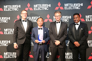 Big turnout for Misubishi Electric's Dealer Awards