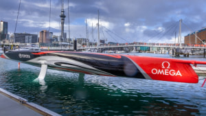 Emirates Team New Zealand launches their AC75
