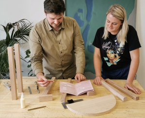 Maker kits promote therapeutic benefits of woodworking