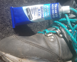 How to repair boots