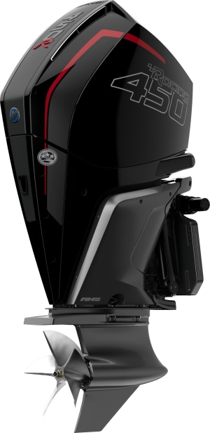 Mercury Racing's new 450R outboard