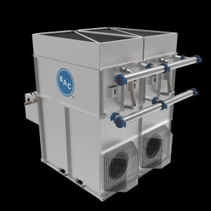 Hybrid cooler features heat transfer technology