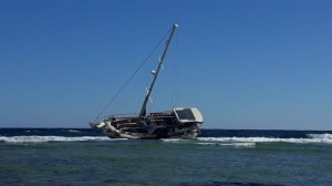 Missing solo yachtsman's boat found run aground off Egypt