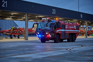 New firefighting vehicle arrives at East Sale