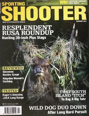 February Sporting Shooter is on the news stands now