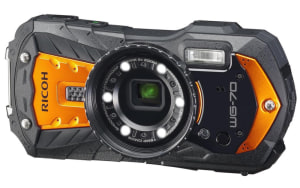 Ricoh announces WG-70 rugged action camera