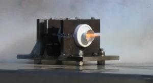 Thales Australia conducts rocket motor test