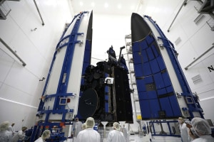 Protected communications satellite completes on-orbit testing