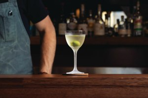 Recipe: Darren Leaney's olive oil Martini