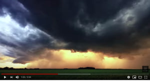 Three minutes of utterly gorgeous storm chasing