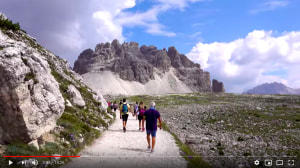 Relax to a stunning image flow of the Dolomites