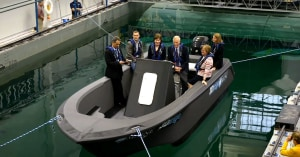 VIDEO: World's largest 3D printed boat!