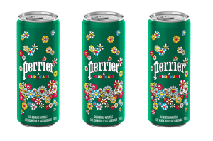 Perrier sparkles with Murakami design