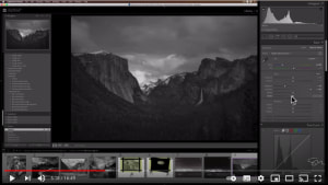 Video: how to make dramatic black and white images in Adobe Lightroom