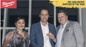 Milwaukee tools wins GPC Asia Pacific Supplier of the year.