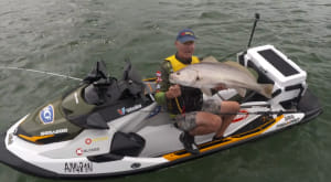 VIDEO: Catching a jewie from a SeaDoo FISH PRO