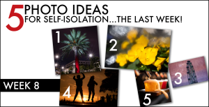 Photo tips for isolation: the final week!