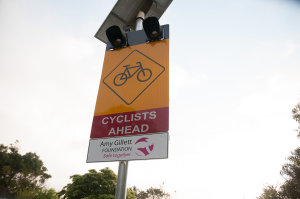 Revolutionary 'Cyclists Ahead' Warning Signs Deployed