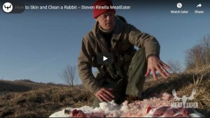 How to Skin and Clean A Rabbit - Meat Eater