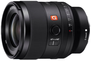 Sony announces 35mm f/1.4 G Master lens