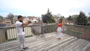 Video: Using a speedlight for outdoor portraits