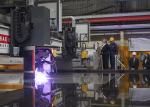 Steel cut for second British Type 26