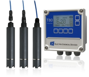 Oxygen analyser fit for any water environment