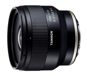 Tamron launches new 20mm f/2.8 lens for Sony E-mount