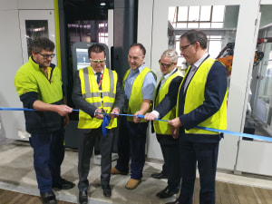 New honing machine for Lithgow rifle factory